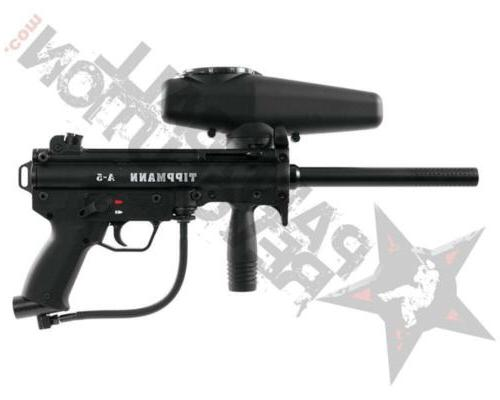 a5 basic tactical paintball gun marker black