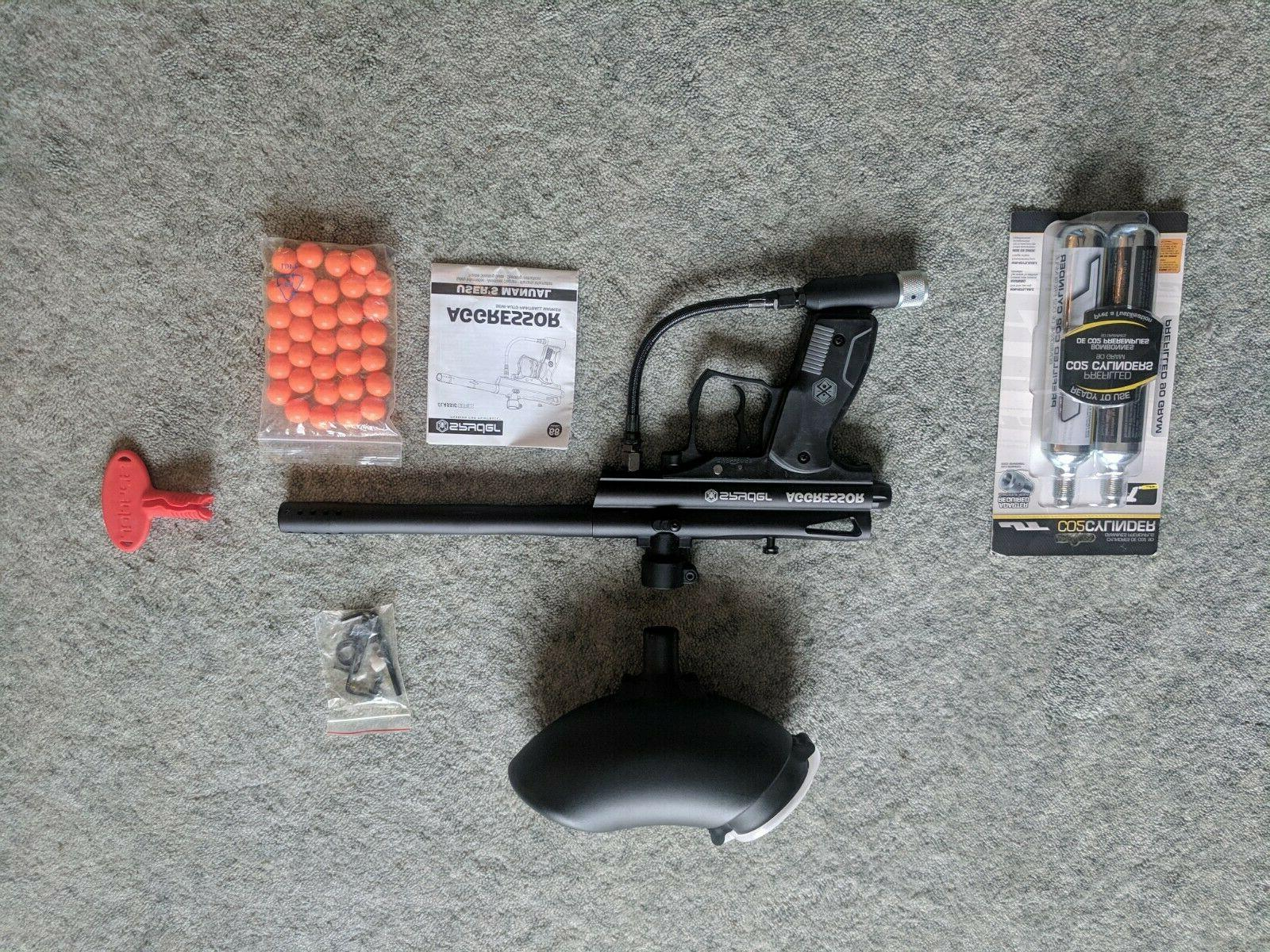 aggressor paintball gun new tactical with air