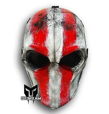 Airsoft Mask Army of Two Paintball BB Gun Outdoor Protective