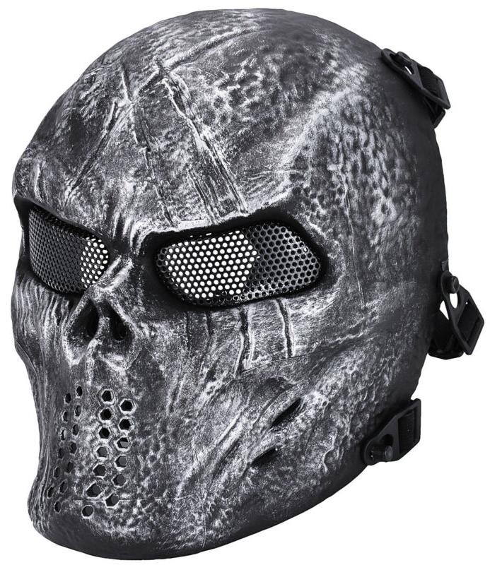 Airsoft Paintball Face Mask Tactical Bb Gun Game Protective