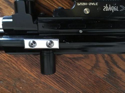 Black Chrome Spyder Xtra Gun Marker