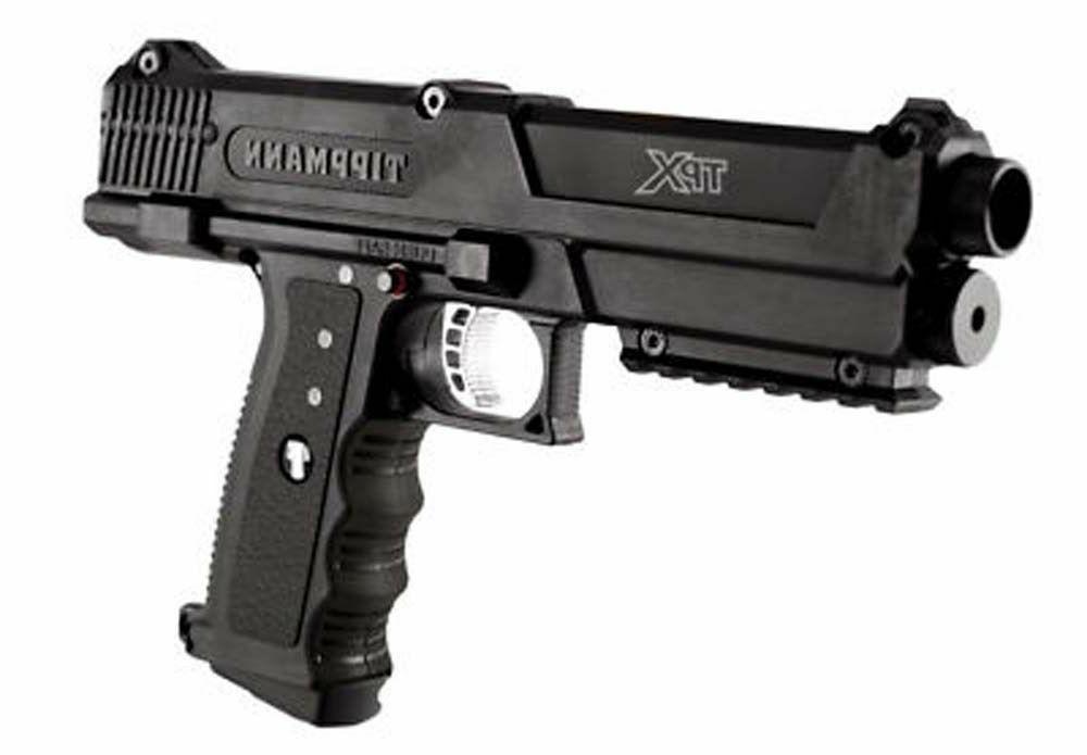 black tipx paintball gun pistol marker tpx