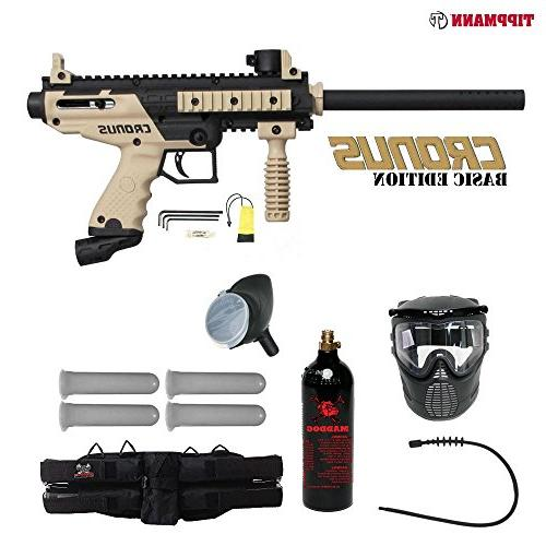 Tippmann Cronus Basic Silver Zephyr Paintball® Gun Package