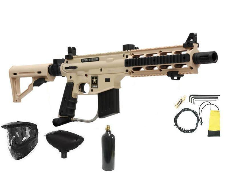 US ARMY Sniper Paintball Package