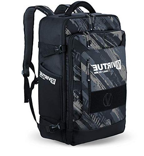 VIRTUE Pack/Harness Gambler Bag Black