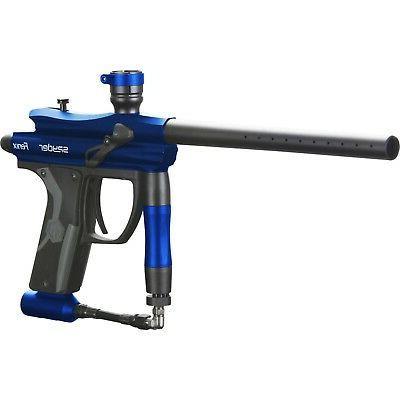 fenix electronic marker gun gloss blue paintball