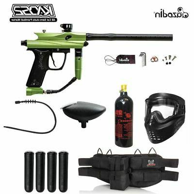 kaos 2 silver paintball gun