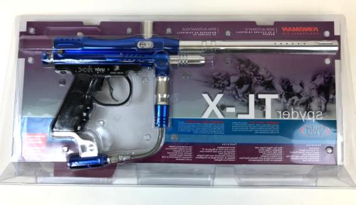 kingman paintball tl x paintball gun blue