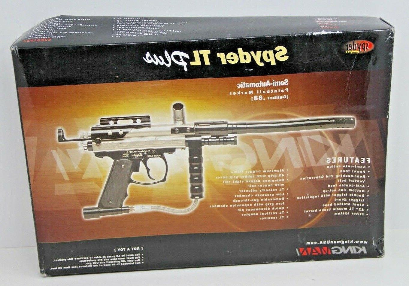 kingman tl plus paintball marker gun semi
