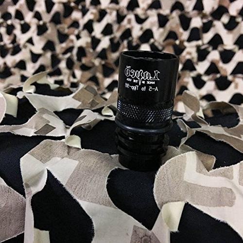 lapco paintball barrel thread adapter