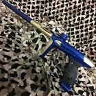 NEW DLX Luxe ICE Electronic OLED Paintball Gun Marker - Blue
