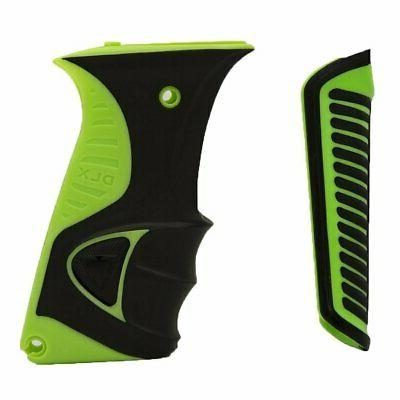 DLX Luxe Ice Grip Kit for Paintball Markers - Green / Black