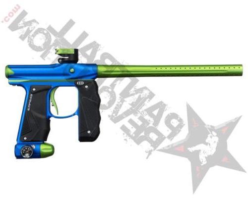 mini gs paintball marker gun dust blue