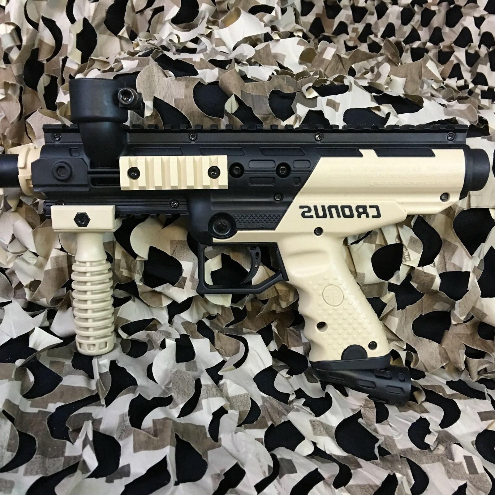 NEW Tippmann Paintball Gun Kit Tan/Black