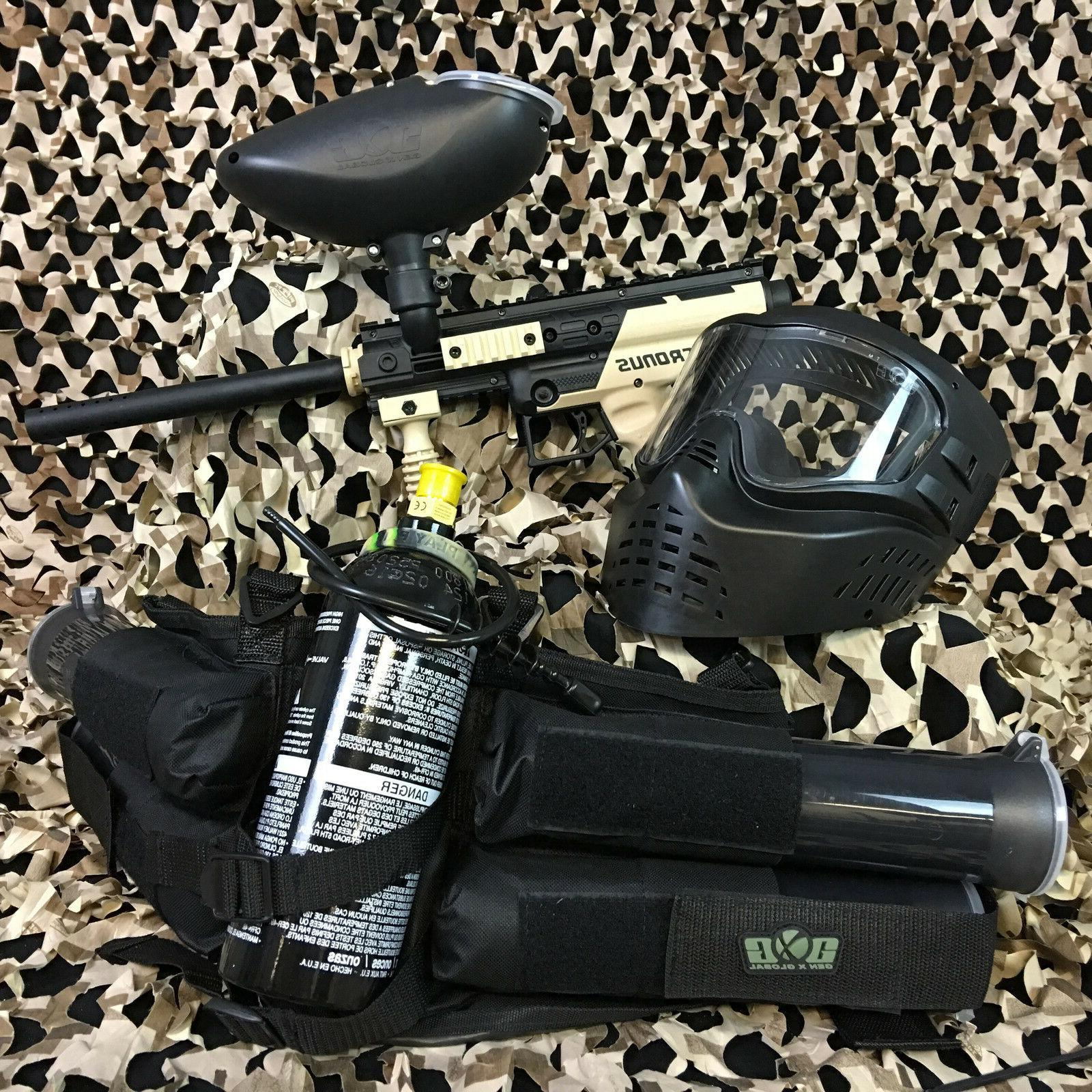 new cronus epic paintball marker gun package