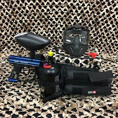 new kingman victor legendary paintball gun package