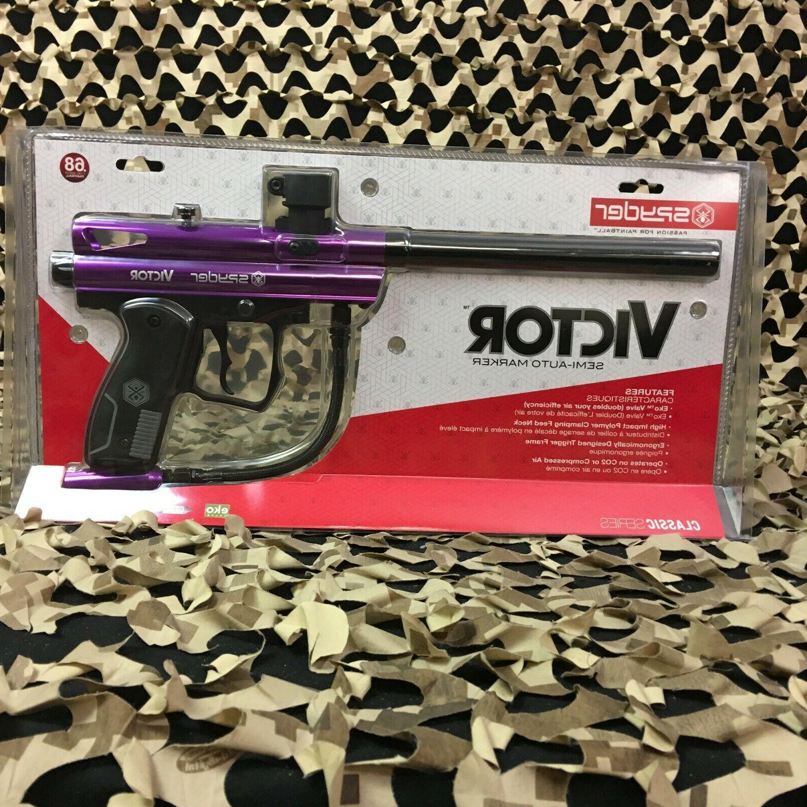 new kingman victor semi auto paintball gun