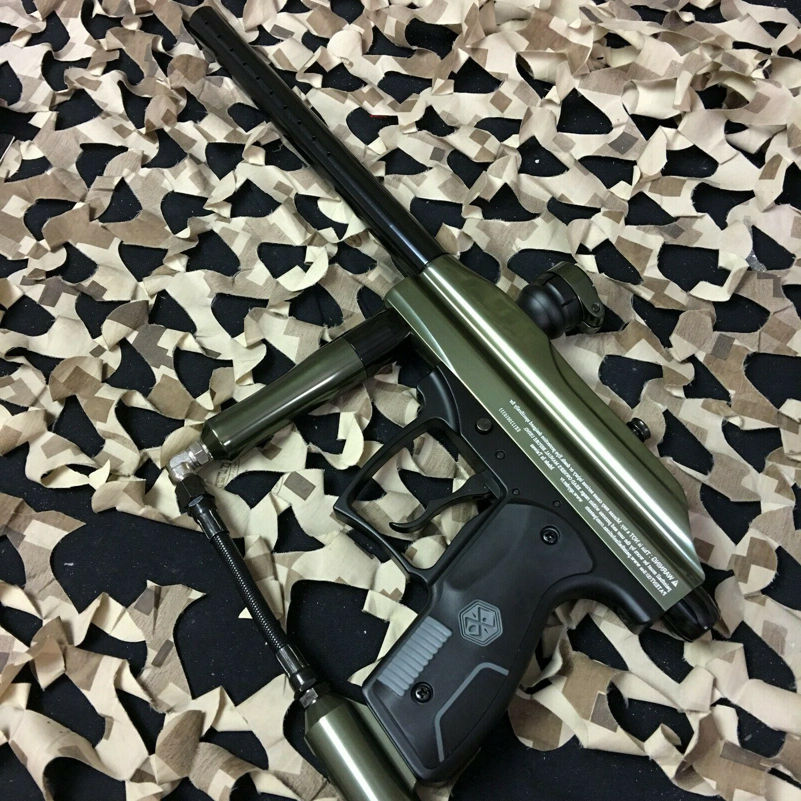 NEW KINGMAN SPYDER XTRA SEMI-AUTO PAINTBALL GUN/Marker GLOSS