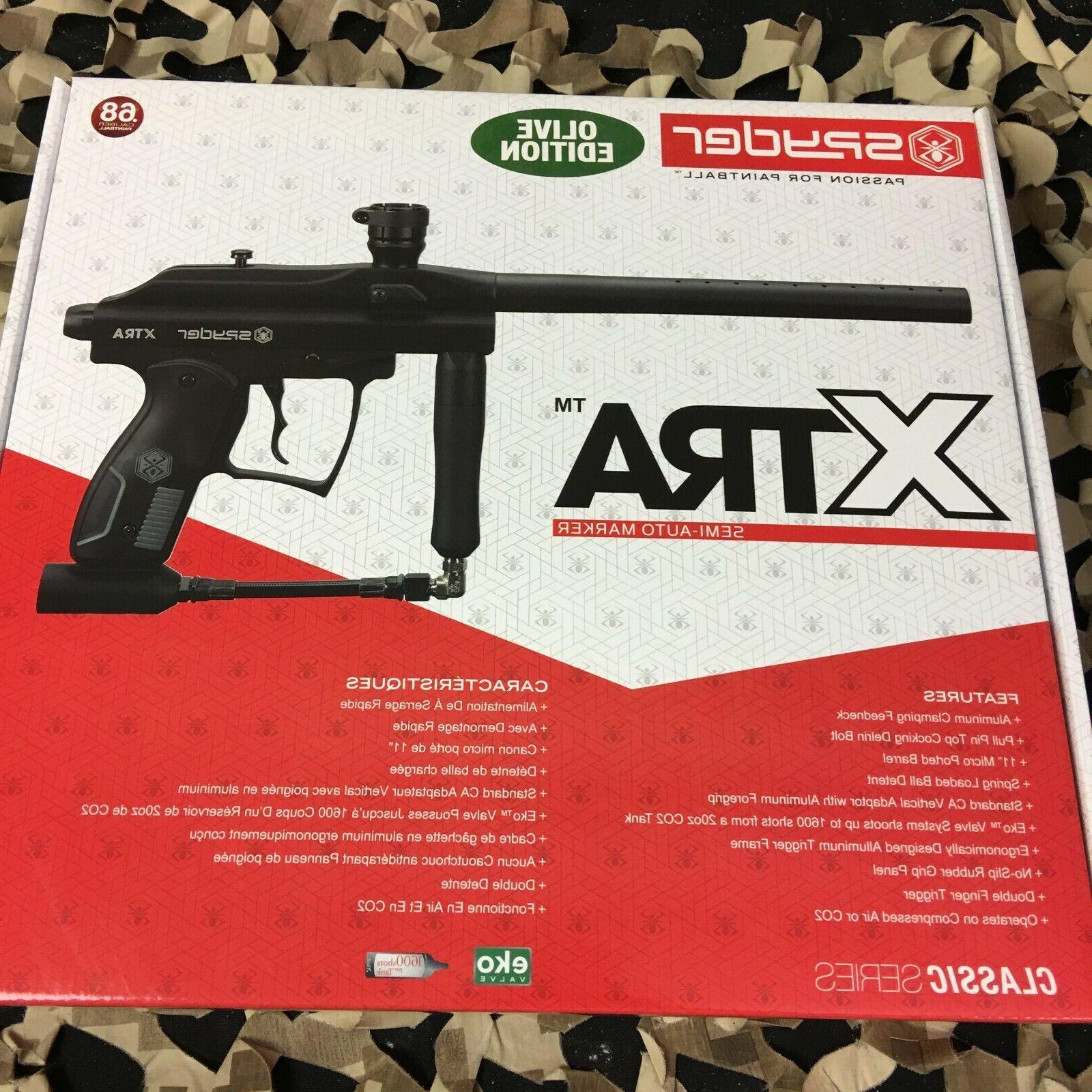 new kingman xtra semi auto paintball gun