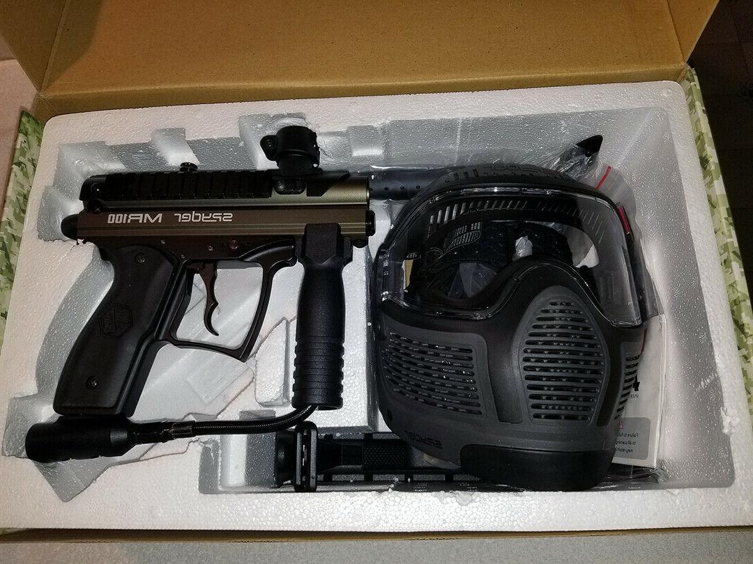 New SPYDER Gun Marker PRO Marker/Goggles/Loader!