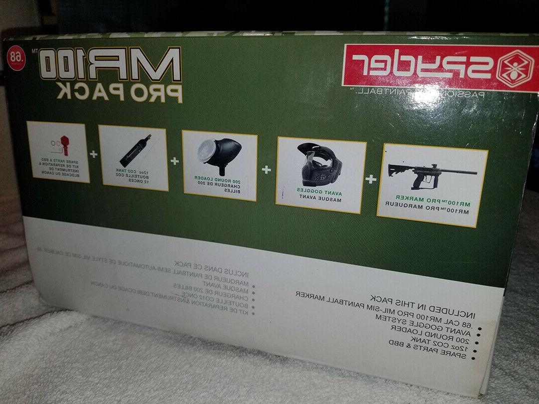New SPYDER Gun Marker PACK Marker/Goggles/Loader!