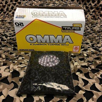 new splatmaster 1000ct low impact paintball ammo
