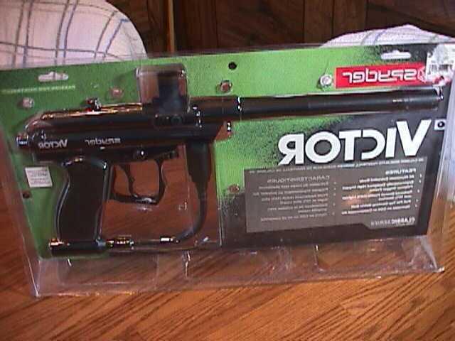 new spyder victor paintball gun semi automatic