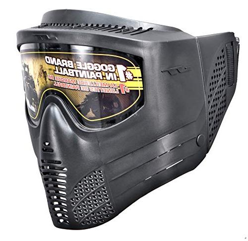 JT Outkast .68Cal Paintball Kit Includes Goggle, 90G Tank, Loader,