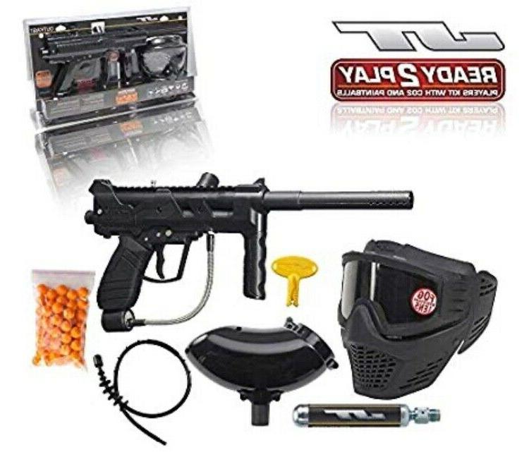 outkast paintball marker gun with accessories