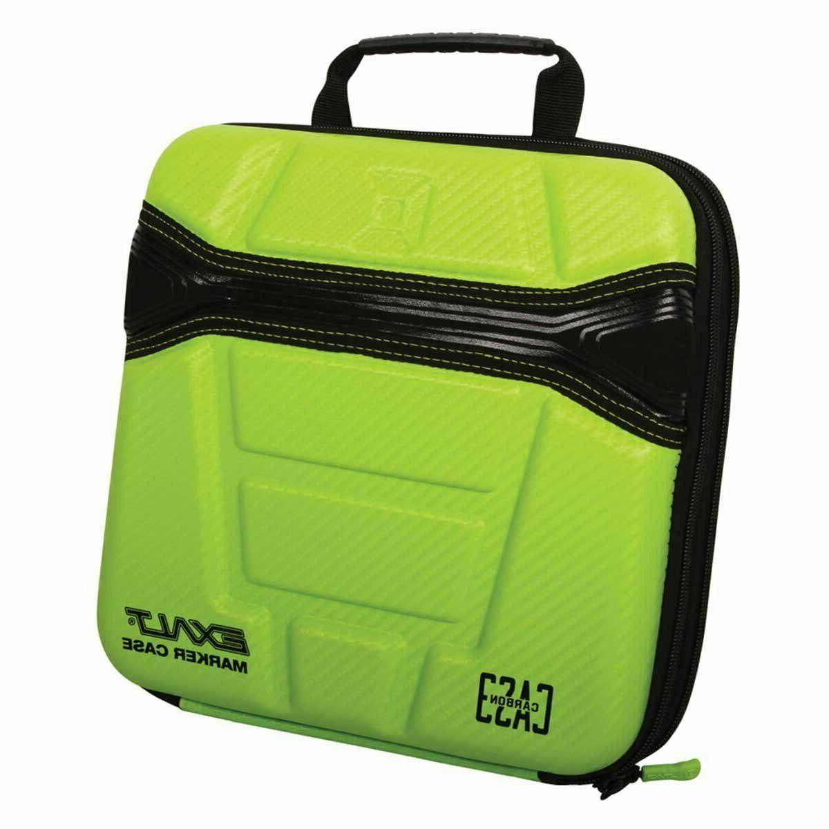 Exalt Paintball Carbon Series Marker Case/Gun Bag - Lime