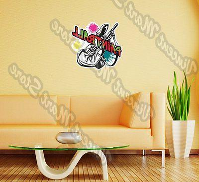 paintball gun rifle extreme sports wall sticker