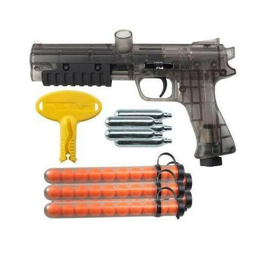 paintball marker gun w paintballs and co2