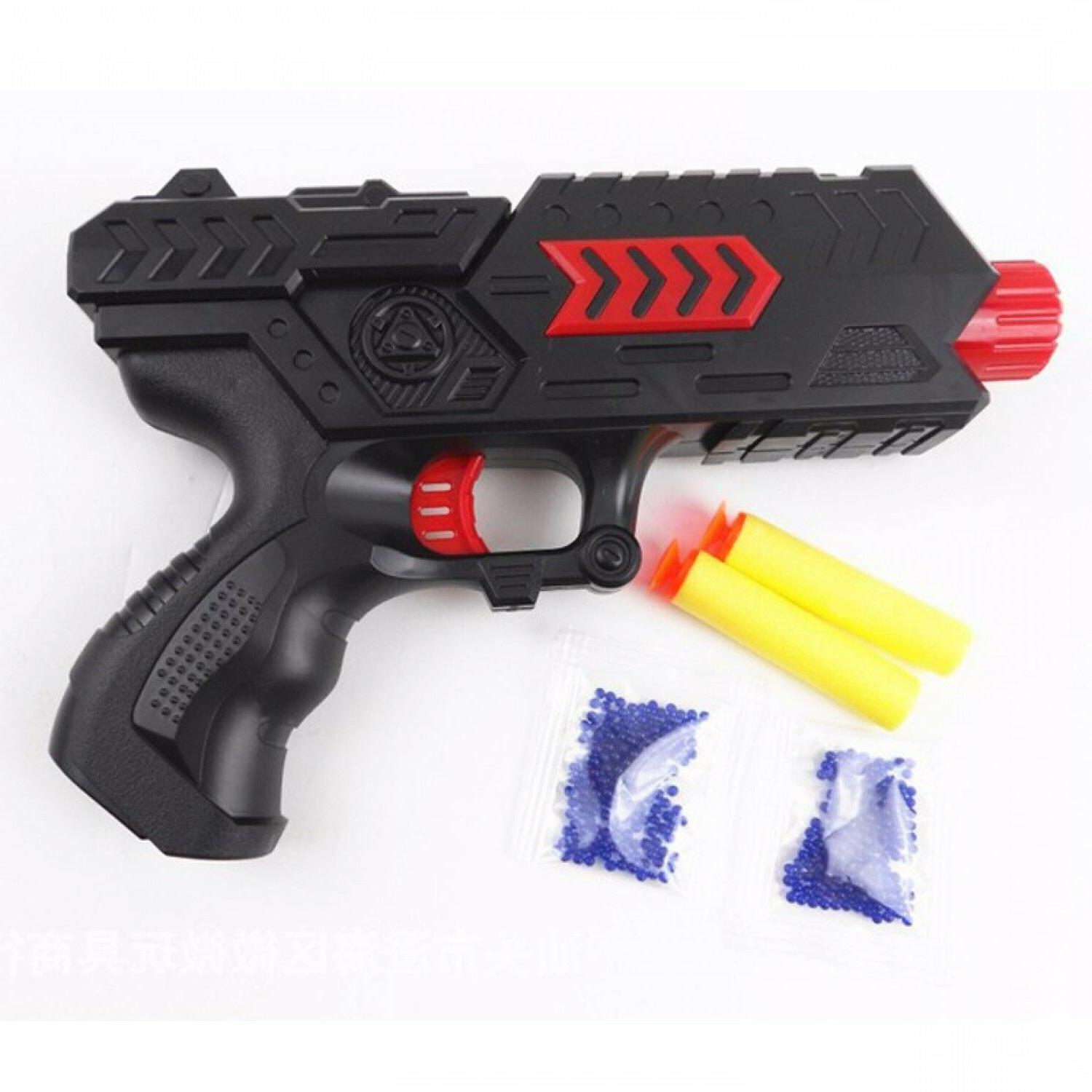 Paintball Toy Gun Soft Bullet Pistol CS Game Water Crystal G