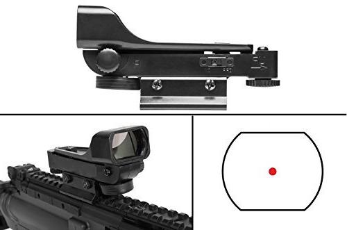 polymer reticle red dot open