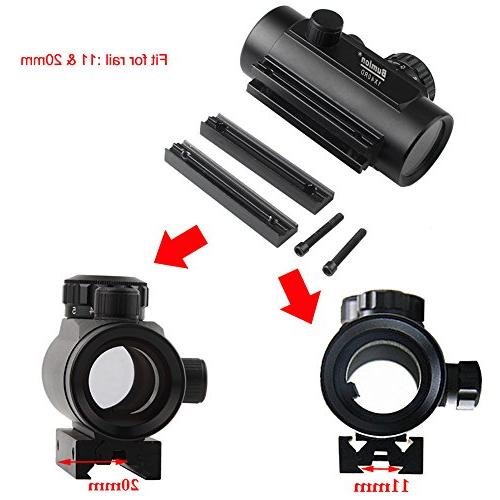 Red Sight Rifle Scope Holographic 20mm up Airsoft Gun