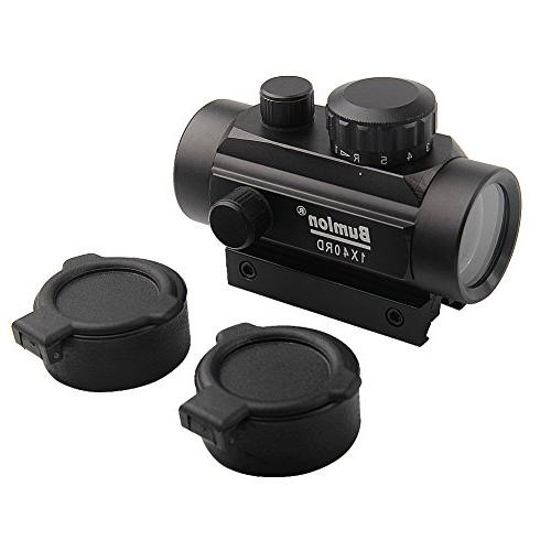 Red Rifle Scope Reflex 20mm Rail Flip up Cover Airsoft