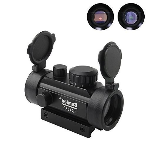 red green dot sight scope