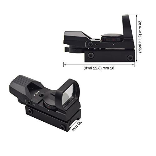 Feyachi Sight Adjustable Both Red and sight!