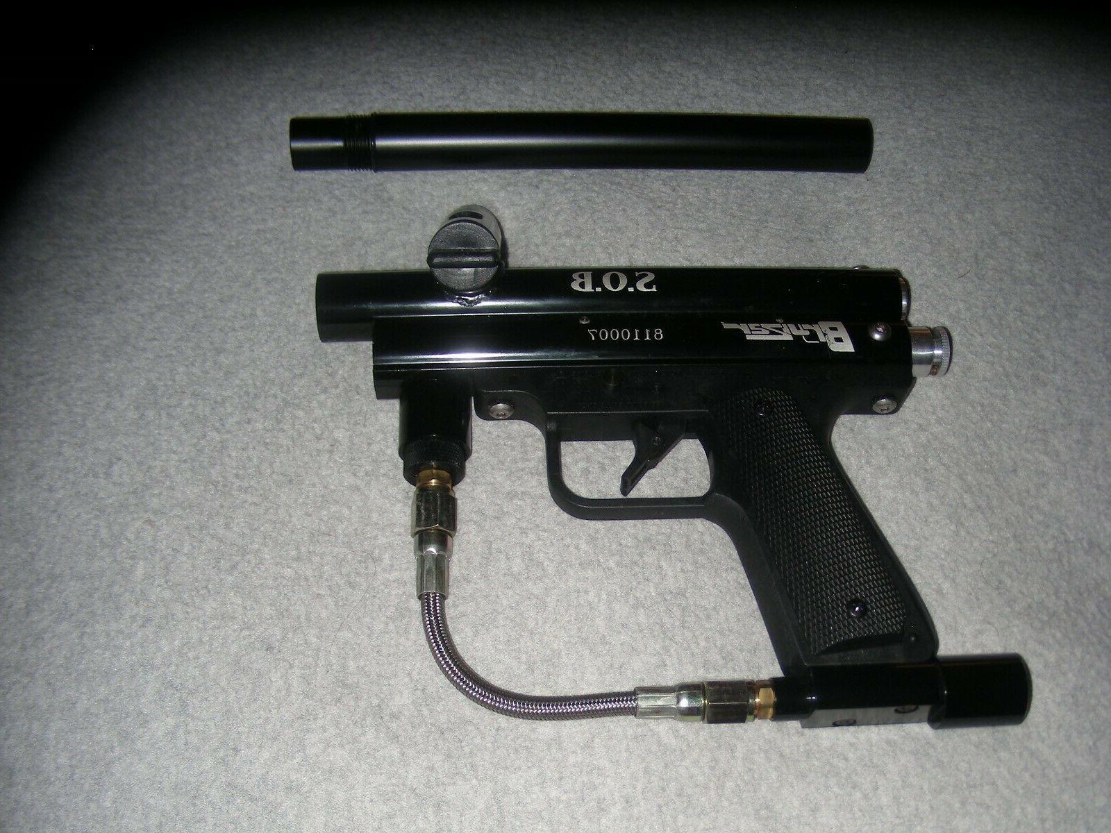 Bruizar Ball Gun Black