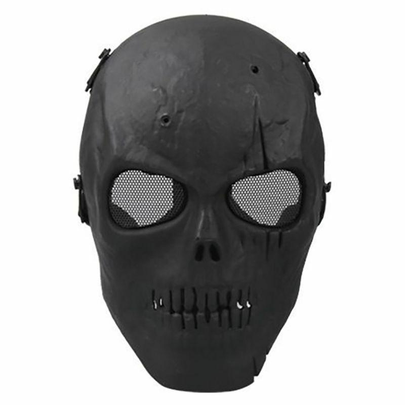 Skull Skeleton Army Airsoft Tactical Paintball Full Face Pro