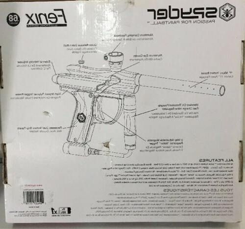 Spyder Fenix Electronic Gun Marker Black