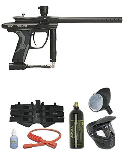 Kingman Spyder Fenix Paintball Package Black