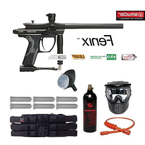 Kingman Spyder Paintball Black
