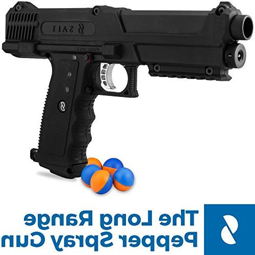 Salt Pepper + Tear Gas for Defense Gun