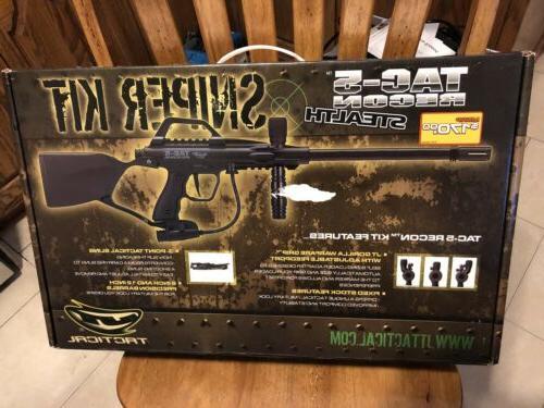 tac 5 recon stealth paintball gun sniper
