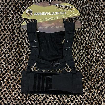 NEW Dye Tactical Assault Molle Paintball Vest Harness Pod Pa