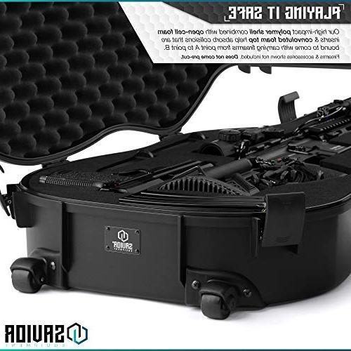 Savior Equipment Discreet Rifle Carbine Case - to Firearm, Carry,