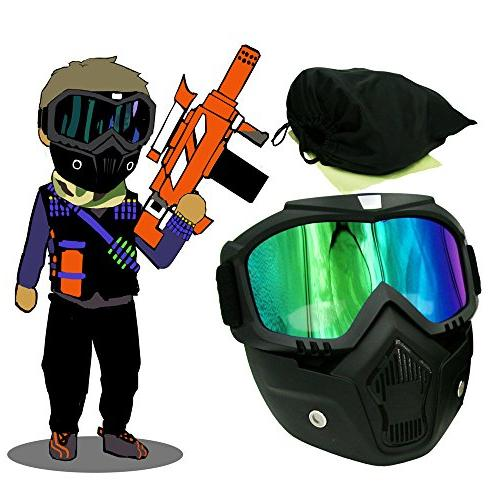tactical paintball mask motorcycle goggles