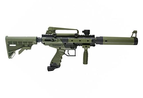 MAddog Tippmann Cronus HPA Gun Package - Black/Olive