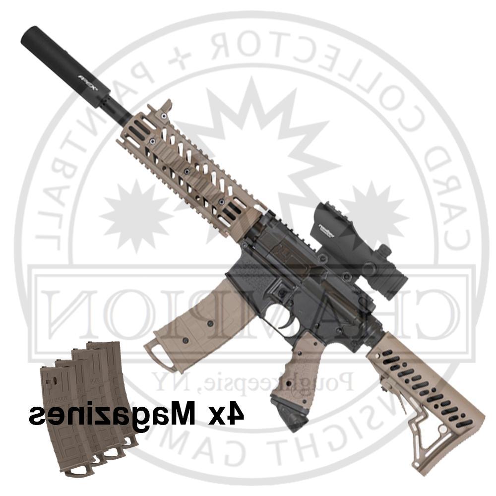 tmc paintball marker long range magazine fed